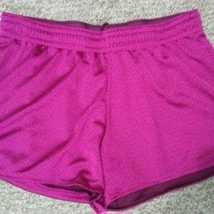 Nike Dri-Fit Athletic Shorts Burgundy/Wine Med